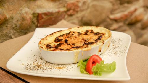 Restaurant Le Funiculaire - Gratin de ravioles