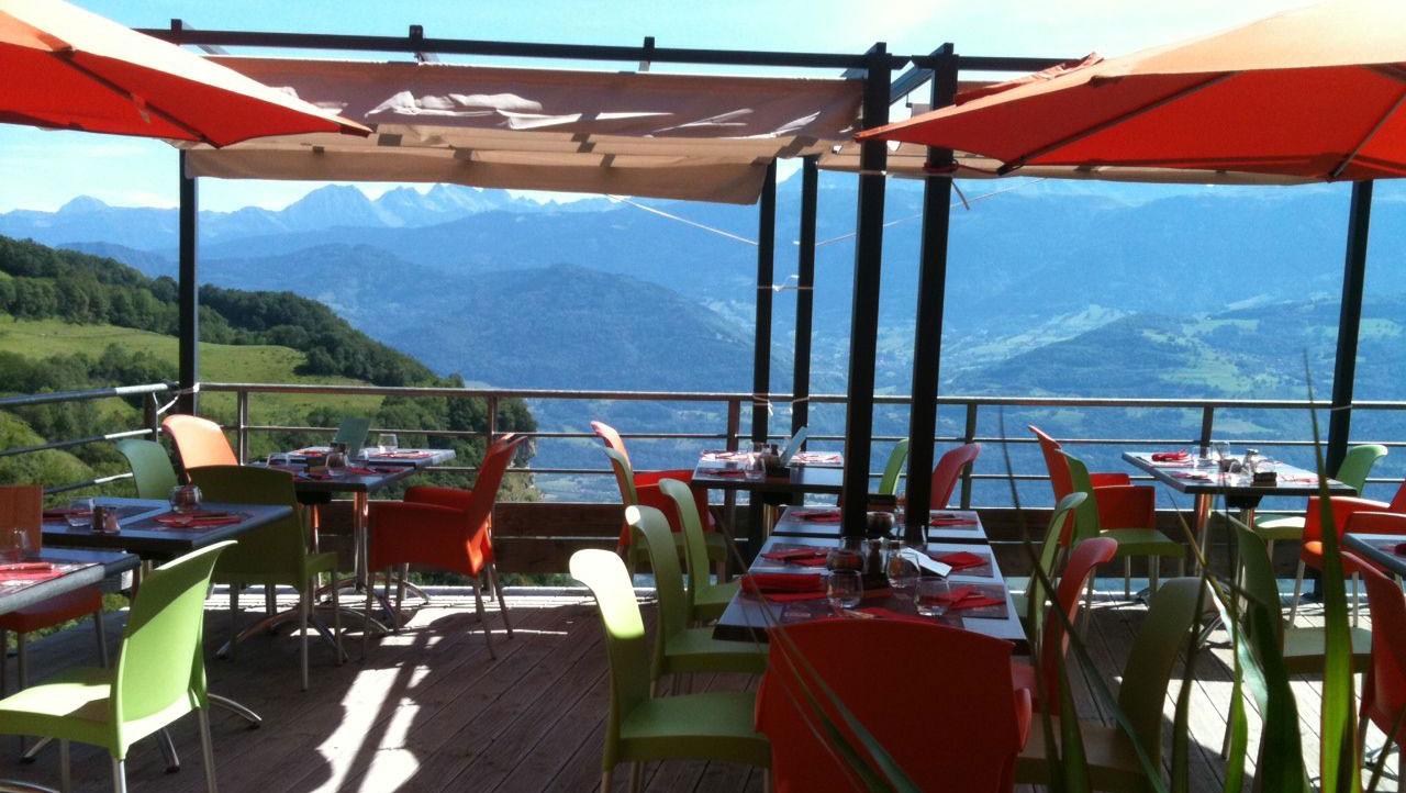 Restaurant Le Funiculaire - Terrasse - St-Hilaire du Touvet
